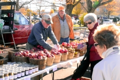 The farmers' markets last well into Fall.