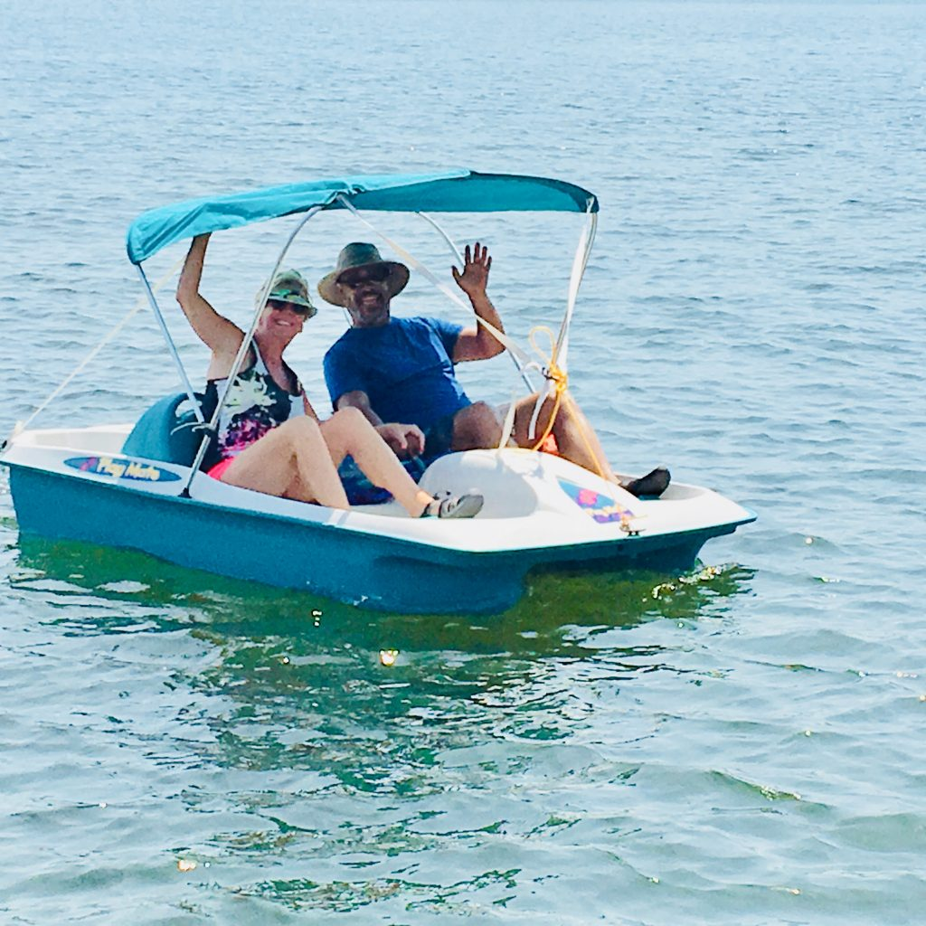 Paddle Boat at Lily Pad Cottage, Door County