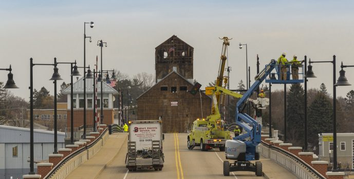 Granary Moves To The East Side Waterfront Of Sturgeon Bay View